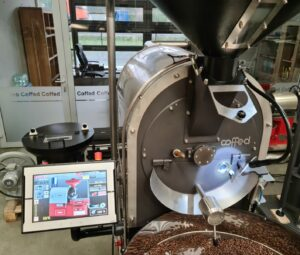 roaster with 15 touch screen