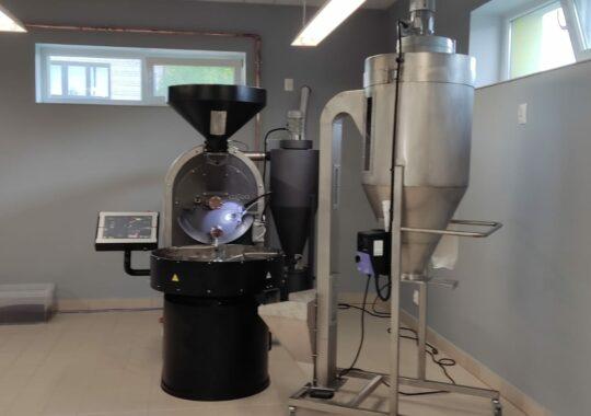 15 kg coffee roaster with destoner
