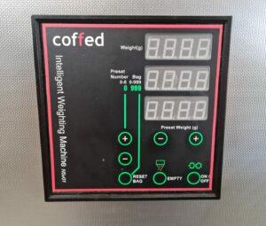 Automatic scale 3kg control panel